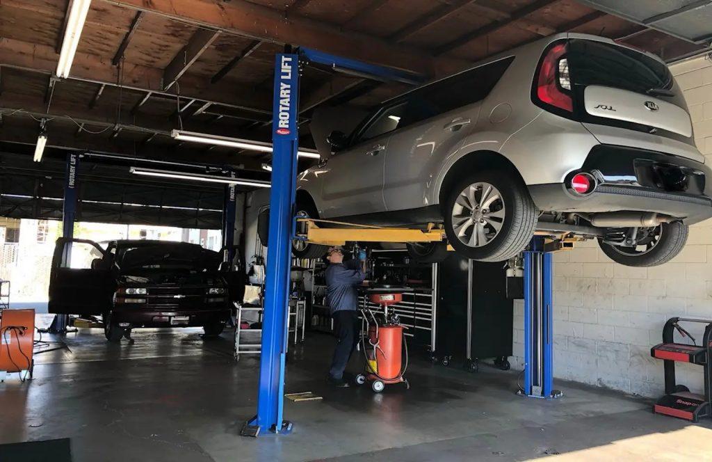 California Auto Repair Shop